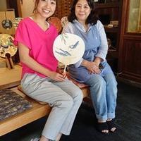 5/27(月)ラジオカーリポートは、京うちわの専門店「阿以波」さん:画像