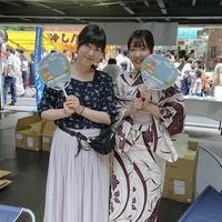 7/15(月)ラジオカーリポート③ 祇園祭特製うちわ配布会場から:画像