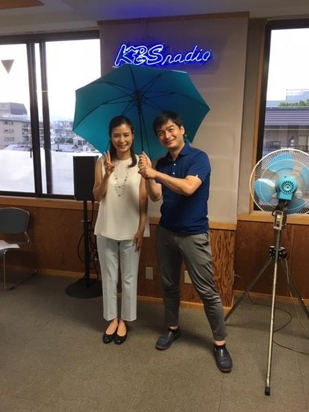 夏子さんと新しい傘!
