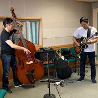 本日のゲストはジャズギターリスト&ベーシスト!:画像