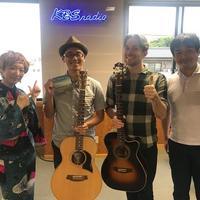 今日のゲストは、、超絶ギタリスト 豊田渉平さん、ゲレスピアソンさん:画像