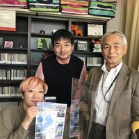 谷口さんのテーマ~琵琶湖一周のろし駅伝の話題:画像