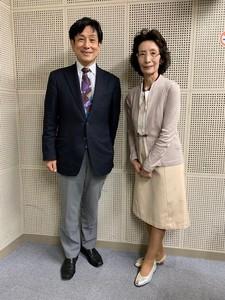 京都四条・南座前 井澤屋 4代目の奥様 井澤國子さん、桂米團治さん