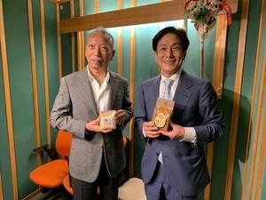 桂米團治と本田茂俊さん