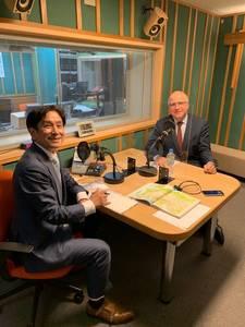 桂米團治と在京都フランス総領事ジュール・イルマン