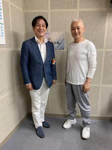 桂米團治と杵屋勝七郎さん