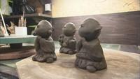 ぬくもりを伝える陶人形(2)