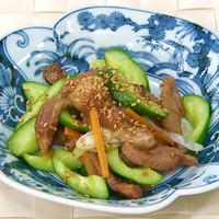 豚肉とキュウリの香り炒め:画像